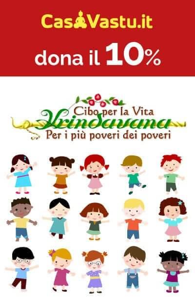 Casa Vastu dona il 10%